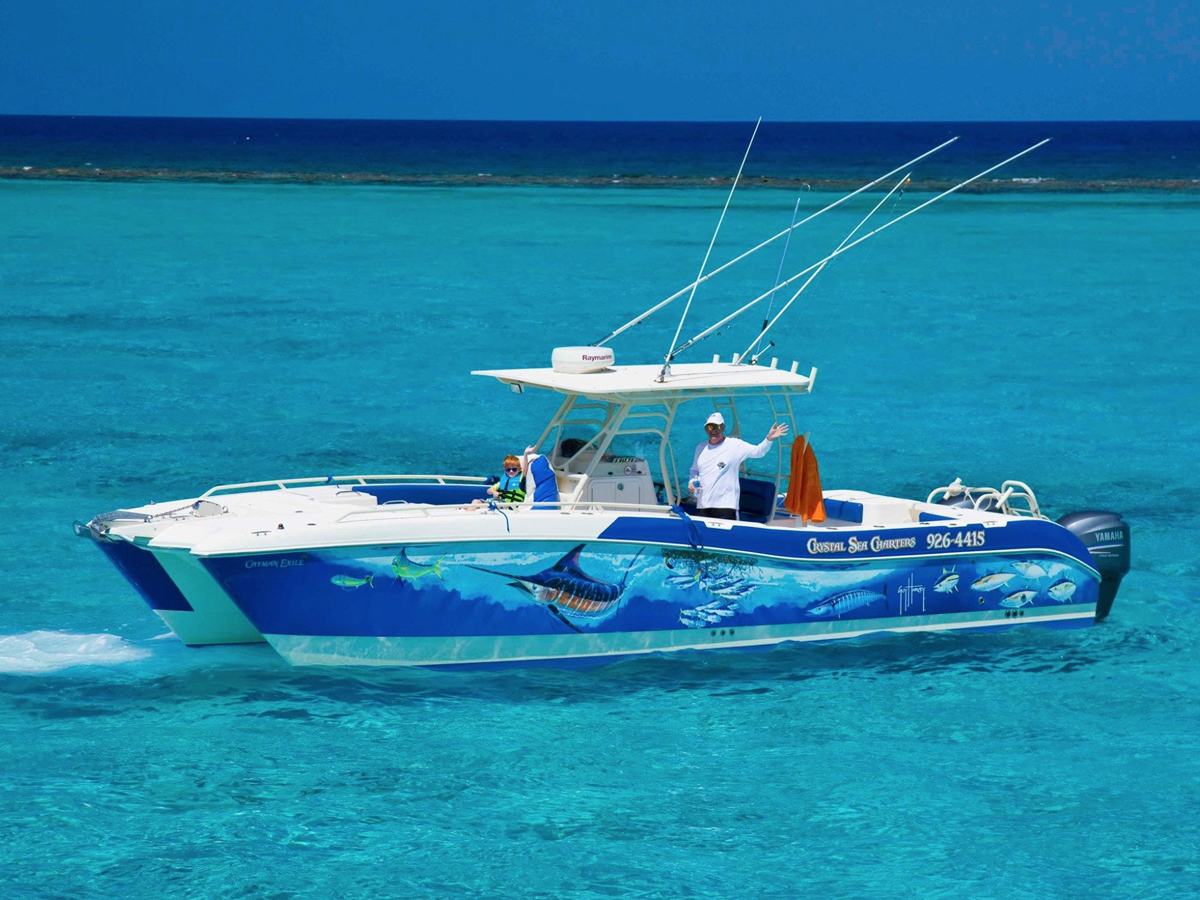 33 ft Worldcat TE with twin 300 HP outboards