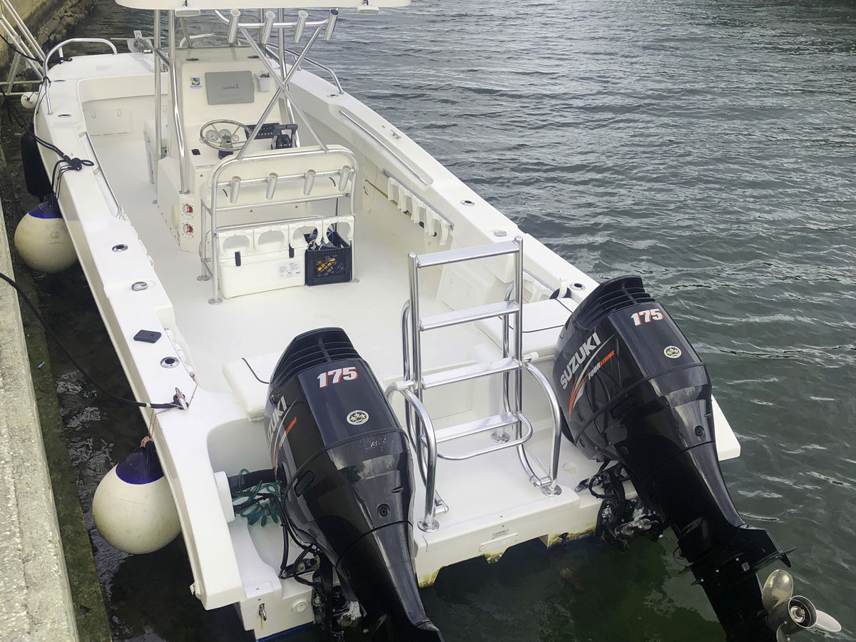 Newton 42 fishing and diving Boat
